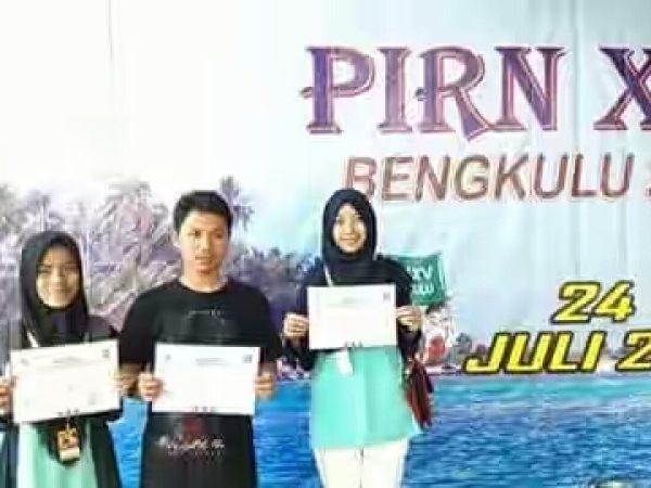 KIR MAN 4 Pandeglang Mengikuti Perkemahan Ilmiah Remaja Nasional XV DI Bengkulu