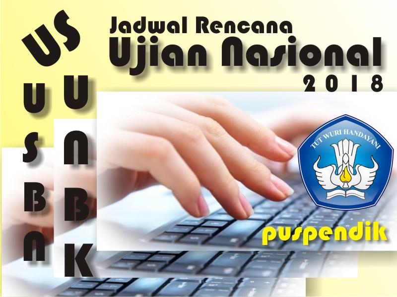 Jadwal UNBK SMA/MA