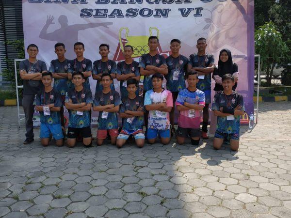 MAN 4 Pandeglang Juara Volley Season VI UNIBA