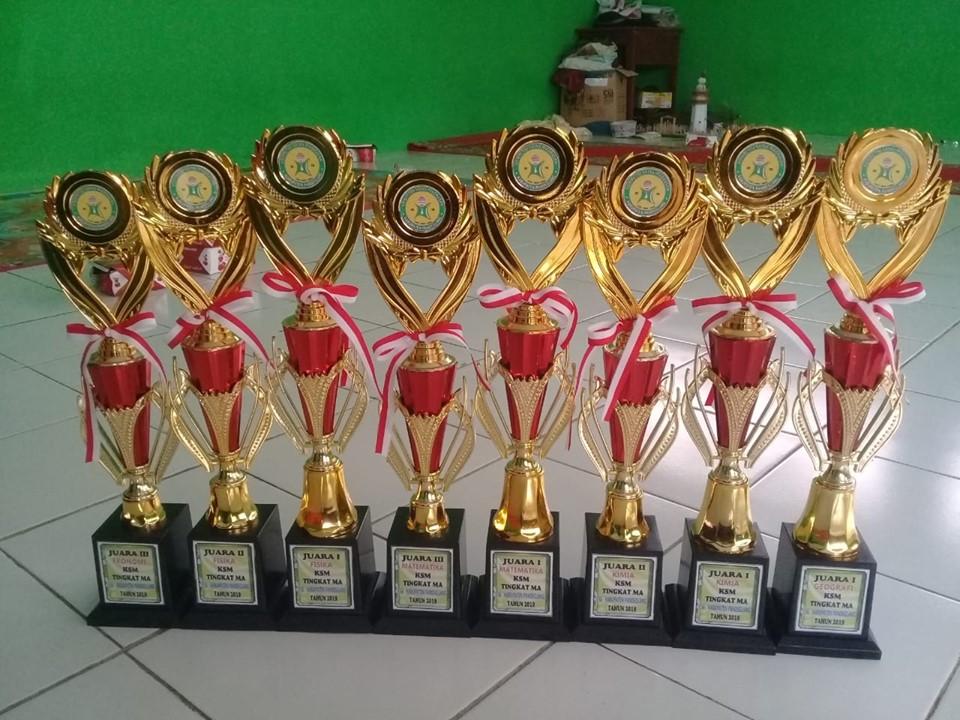 Juara 1 Mapel Geografi Kompetisi Sains Madrasah 2019 Kabupaten Pandeglang