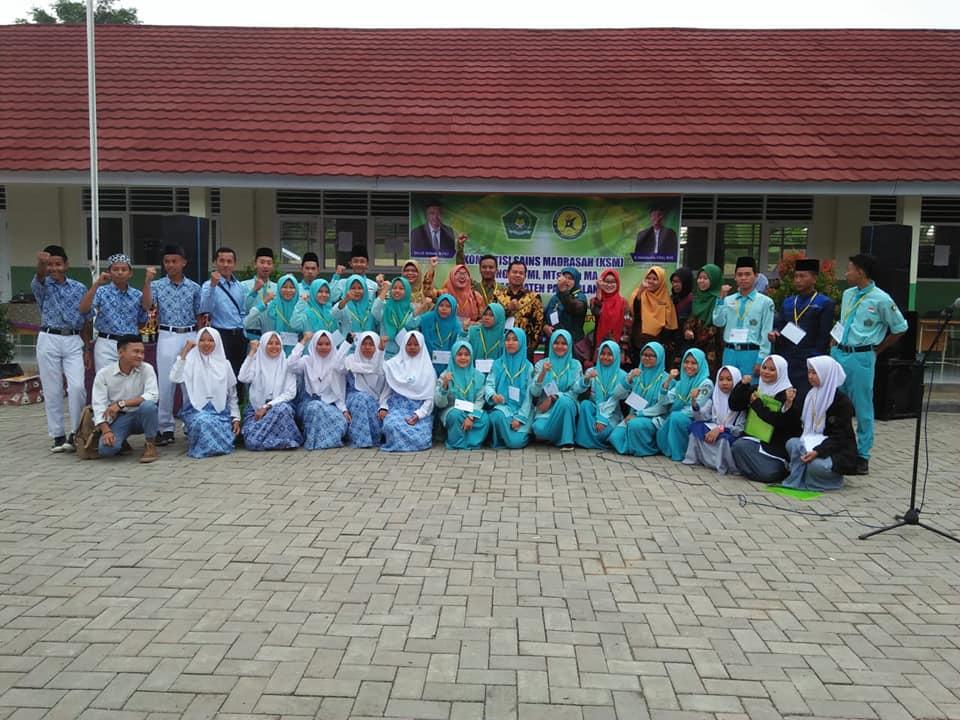 Juara 2 Mapel Fisika Kompetisi Sains Madrasah (KSM) 2019 Kabupaten Pandeglang