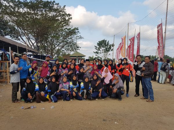 Tim Volley Putri MAN 4 Pandeglang Tembus Semi Final PHBN Cibaliung 2019